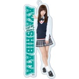 SKE48 2016年1月度個別グッズ「BIGアクリルキーホルダー」 柴田阿弥