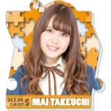 SKE48 2016年2月度個別グッズ「パズルキーチェーン」 竹内舞