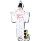 SKE48 2016年8月度個別グッズ「BIGアクリルキーホルダー(浴衣Ver.)」 東李苑