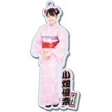 SKE48 2016年8月度個別グッズ「BIGアクリルキーホルダー(浴衣Ver.)」 小畑優奈