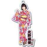 SKE48 2016年8月度個別グッズ「BIGアクリルキーホルダー(浴衣Ver.)」 北野瑠華