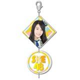 SKE48 2016年9月度個別グッズ「2連チャーム」 野口由芽