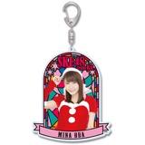 SKE48 2016年12月度個別グッズ「ステンドグラス風キーホルダー」 大場美奈