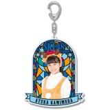 SKE48 2016年12月度個別グッズ「ステンドグラス風キーホルダー」 上村亜柚香