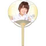 SKE48 2016年7月度個別グッズ「竹うちわ」 山内鈴蘭