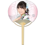 SKE48 2016年7月度個別グッズ「竹うちわ」 荒井優希