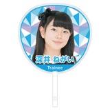 SKE48 2017年1月度個別グッズ「ジャンボうちわ」 深井ねがい