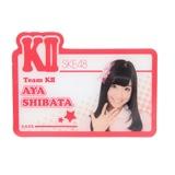 SKE48 2013年9月度個別グッズ 「アクリルネームバッジ」 柴田阿弥