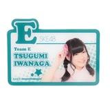 SKE48 2013年9月度個別グッズ 「アクリルネームバッジ」 岩永亞美