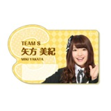 SKE48 2014年8月度個別グッズ「ネームプレート」 矢方美紀