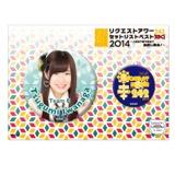 SKE48 リクエストアワー2014 缶バッジセット 岩永亞美