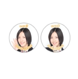 SKE48 春コン2012 SKE専用劇場は秋までにできるのか? 缶バッジ 松井珠理奈