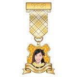 SKE48 2015年7月度個別グッズ「リボンバッジ」 大矢真那