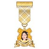 SKE48 2015年7月度個別グッズ「リボンバッジ」 松井珠理奈