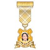 SKE48 2015年7月度個別グッズ「リボンバッジ」 松本慈子