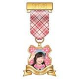 SKE48 2015年7月度個別グッズ「リボンバッジ」 青木詩織