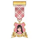 SKE48 2015年7月度個別グッズ「リボンバッジ」 江籠裕奈