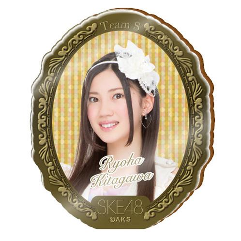 SKE48 2015年10月度個別グッズ「アクリルブローチ」 北川綾巴