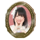SKE48 2015年10月度個別グッズ「アクリルブローチ」 松村香織