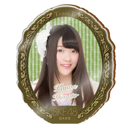 SKE48 2015年10月度個別グッズ「アクリルブローチ」 木本花音