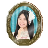 SKE48 2015年10月度個別グッズ「アクリルブローチ」 小畑優奈