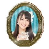 SKE48 2015年10月度個別グッズ「アクリルブローチ」 一色嶺奈