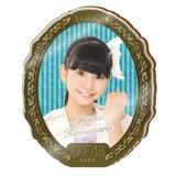SKE48 2015年10月度個別グッズ「アクリルブローチ」 上村亜柚香