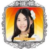 SKE48 2016年3月度個別グッズ「ピンバッジ」 杉山愛佳