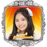 SKE48 2016年3月度個別グッズ「ピンバッジ」 山田樹奈