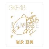 2014年1月度個別グッズ 「SKE48 蒔絵シール」 岩永亞美