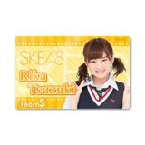 SKE48 2015年8月度個別グッズ「ICカードステッカー」 都築里佳