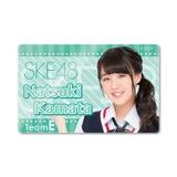 SKE48 2015年8月度個別グッズ「ICカードステッカー」 鎌田菜月