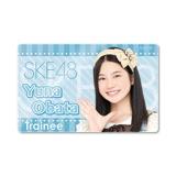 SKE48 2015年8月度個別グッズ「ICカードステッカー」 小畑優奈