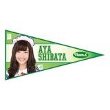 SKE48 2015年11月度個別グッズ「ペナント風ステッカー」 柴田阿弥