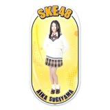SKE48 2015年12月度個別グッズ「両面ステッカー」 杉山愛佳