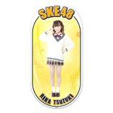 SKE48 2015年12月度個別グッズ「両面ステッカー」 都築里佳