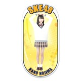 SKE48 2015年12月度個別グッズ「両面ステッカー」 野島樺乃