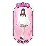 SKE48 2015年12月度個別グッズ「両面ステッカー」 江籠裕奈