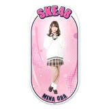 SKE48 2015年12月度個別グッズ「両面ステッカー」 大場美奈