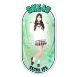 SKE48 2015年12月度個別グッズ「両面ステッカー」 井田玲音名