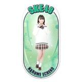SKE48 2015年12月度個別グッズ「両面ステッカー」 市野成美