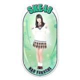 SKE48 2015年12月度個別グッズ「両面ステッカー」 福士奈央