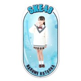 SKE48 2015年12月度個別グッズ「両面ステッカー」 片岡成美