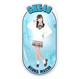 SKE48 2015年12月度個別グッズ「両面ステッカー」 町音葉