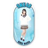 SKE48 2015年12月度個別グッズ「両面ステッカー」 和田愛菜