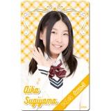 SKE48 2016年4月度個別グッズ「ICカードステッカー」 杉山愛佳