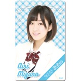 SKE48 2016年4月度個別グッズ「ICカードステッカー」 水野愛理