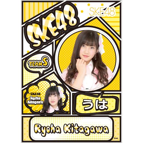 SKE48 2016年5月度個別グッズ「デコレーションステッカー」 北川綾巴