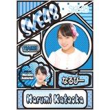 SKE48 2016年5月度個別グッズ「デコレーションステッカー」 片岡成美