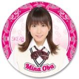 SKE48 2016年7月度個別グッズ「デカステッカー」 大場美奈